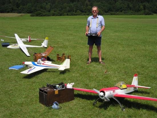 Jean et ses avions